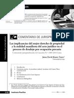Las implicancias del mejor derecho de propiedad.pdf