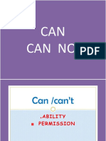 CAN -  can  not  Abilities