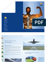 Placement Brochure of Aviation Management 2009-10 For University of Petroleum & Energy Studies