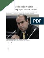 Conflictos Territoriales Entre Puno y Moquegua Aun Es Latente
