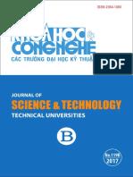 Tạp chí Khoa học và Công nghệ – Số 119 (05/2017)