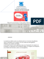 Enfermedades Nutricionales II Clase PPT