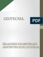 2.- Relaciones Volumetricas y Gravimetricas de Los Suelos.