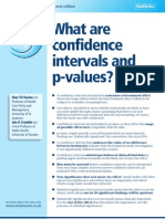 What_are_Confidence Interval and p Value