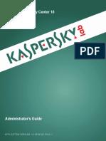 Kaspersky Administration Guide