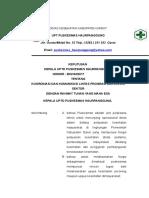 Sk Koordinasi Dan Komunikasi Lintas Program Dan Lintas Sektor Doc Copy