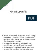 Pleuritic Carcinoma