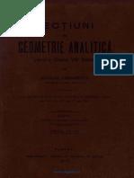Lecțiuni De Geometrie Analitică [1912].pdf