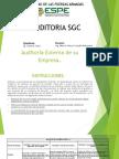 Foro Auditoria Sgc
