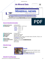 Aktashite Mineral Data1