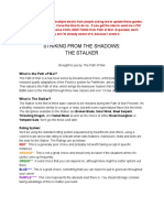 Stalker Guide