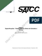 Especificações SATCC