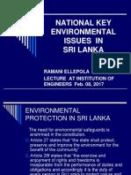 10. National Key Environmental Issues
