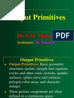 Output Primitives