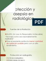Protección y Asepsia en Radiología