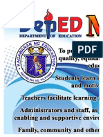 Deped Mision Vision