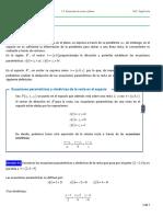 Ecua.parametricas y Simetricas
