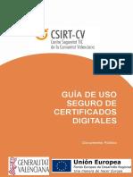Guia de Uso Seguro de Certificados Digitales
