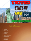 USA's History,Religion,Language, Family Sturcture and Education