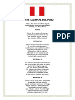 Himno Nacional Del Peru Completo