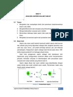 17.Bab 6 Analisis Aspirin Dalam Obat Tablet