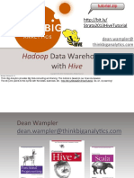 Hadoop Data Warehousing With Hive Presentation