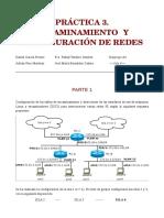 Encaminamiento y Configuración de Redes
