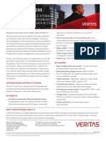 Veritas Access Data Sheet