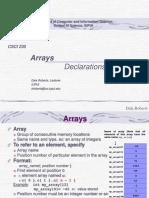t 11 a Arrays Declarations