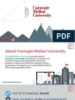 Study Abroad at Carnegie Mellon University - CMU, Admission Requirements, Courses, Fees
