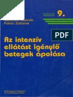 ETI Az Intenziv EIlatast Igenylo Betegek Apolasa