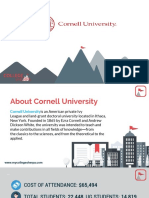 Study Abroad at Cornell University, Admission Requirements, Courses, Fees