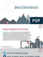 Study Abroad at DePaul University, Admission Requirements, Courses, Fees