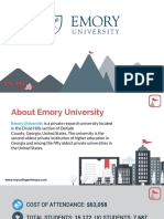 Study Abroad at Emory University, Admission Requirements, Courses, Fees
