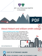 Study Abroad at Hobart and William Smith College, Admission Requirements, Courses, Fees
