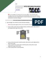 HP 21 58 Problem Resolution v2