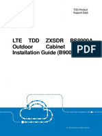 LTE TDD ZXSDR BS8900A Outdoor Cabinet Quick Installation Guide (B900)_R1.3(2015-09)