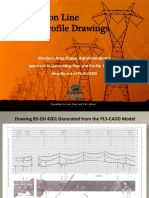 Drafting Transmission Plan and Profile Drawings Directly From PLS-CADD