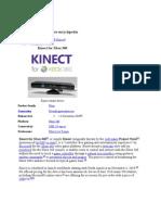 Kinect Abstract