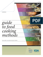 Guide to Food Cooking Methods