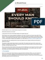 Artofmanliness.com-100 Skills Every Man Should Know
