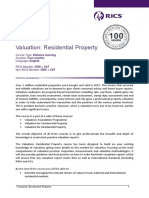 Valuation Residential Overview
