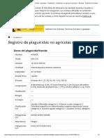 Ministerio de Sanidad, Servicios Sociales e Igualdad - Ciudadanos - Sustancias y Preparados Químicos - Biocidas - Empresas Del Sector