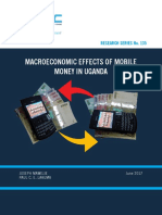 Macroeconomic Effects of Mobile Money in Uganda