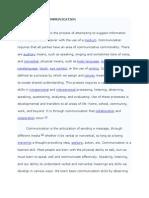 Written Report in English