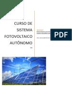 Curso Sistema Fotovoltaico Autonomo - OTM 201512