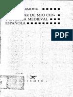 El Cantar de Mio Cid y La Épica Medieval Española
