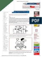 Amplificador de Antena Para AM e FM (MIN331)
