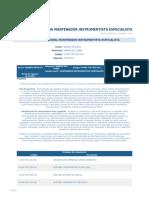 Perfil Competencia Mantenedor Instrumentista Especialista