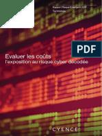 Evaluer les coûts l'exposition au risque cyber décodée